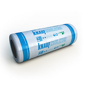 Knauf Earthwool Loft Roll 44 Combi Cut 100mm (13.89m²/Pack)