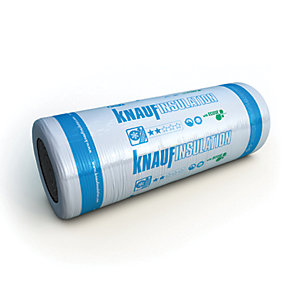 Knauf Earthwool Loft Roll 44 Combi Cut 100mm - 8.30m²/Roll