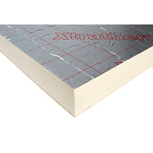 Wonderful Xtratherm Pitched Roof Insulation Board 90mm X 1200mm X 2400mm