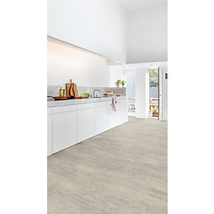 Luxury Vinyl Stone Effect Quick Step Grey Travertine Flooring