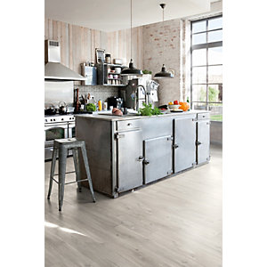 Luxury Vinyl Wood Effect Quick Step Canyon Oak Grey with Sawcuts 1251mm x 187mm x 4.5mm - Pack Size 2.105m²