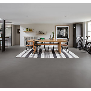 Quick Step Luxury Vinyl Ambient Minimal Medium Grey Flooring 4.5mm 2.080m2/PK AMCL40140