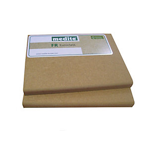 Fire Retardant MDF Euroclass B 12mm x 2440mm x 1220mm