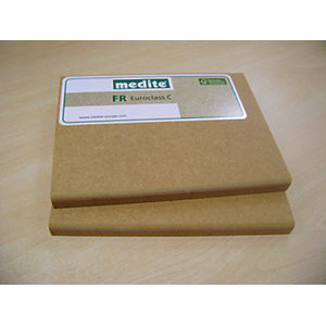 Fire Retardant MDF Euroclass C 12mm x 2440mm x 1220mm