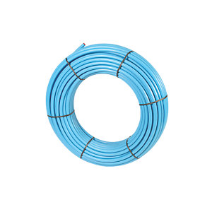 Wavin MDPE 32PW100 PE80 Water Pipe Coil Blue 100mm x 32mm