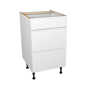 Madison White Gloss 500mm Drawer Unit