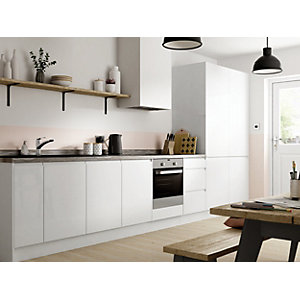 Madison White Gloss 8 Unit Kitchen