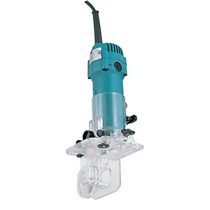 Makita 110V 1/4in Trimmer  3708FC/1