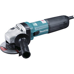 Makita 240V 115mm SJSII Angle Grinder GA4541CT01/2