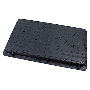 Clark Drain Manhole Cover and Frame Double TRI 675mm x 1200mm