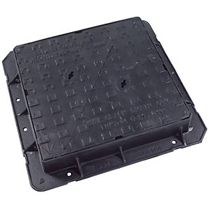 Clark Drain Manhole Cover and Frame Ductile Iron 600mm x 600mm
