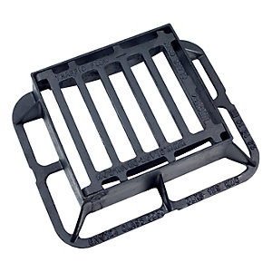 Clark Gully Grate and Frame 340mm x 305mm x 100mm Ductile Hinged C250 CLKS 129KMC