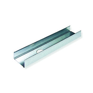 British Gypsum Gypframe Folded Edge Standard Floor & Ceiling Channel 50 FEC 50mm x 3600mm
