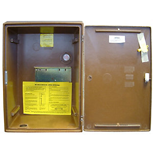 Mitras Built-In Gas Meter Box Brown