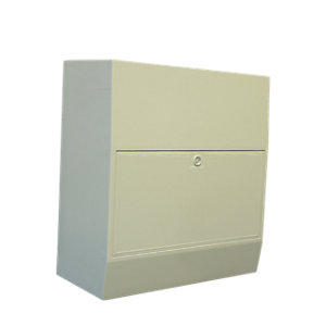 Mitras MK1 Surface Mounted Gas Cover and Door 450mm x 506mm x 227mm