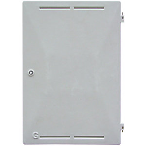 Mitras Recessed White Gas Box Spare Door 383mm x 550mm