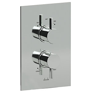 Abode Harmonie Concealed Thermostatic Shower Mixer Dual Exit AB2217