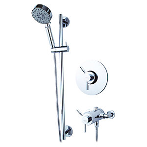 Iflo Bexford Concentric Thermostatic Mixer Shower