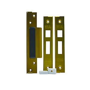 4Trade Sashlock Rebate Set Brass 13mm