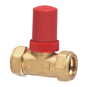 Honeywell Compression Start Auto Bypass Valve 22mm