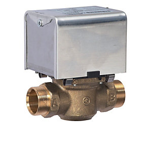 Siemens CZV228 2 Port Zone Valve (6 Wire) 28mm