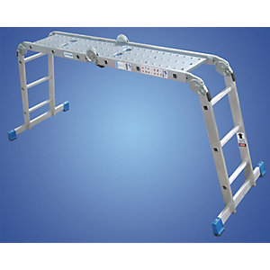 EN131 Aluminium Mp Ladder 4 x 3