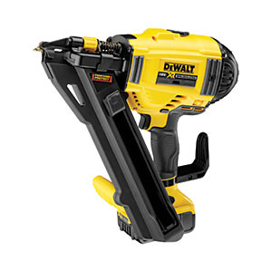 DeWalt 18V Xr Brushless Metal Connector Nailer with 2 x  5AH Batteries DCN694P2-GB