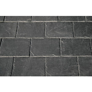 Samaca Quarry 53 Natural Spanish Slate/Half 500mm x 375mm Roofing Tile