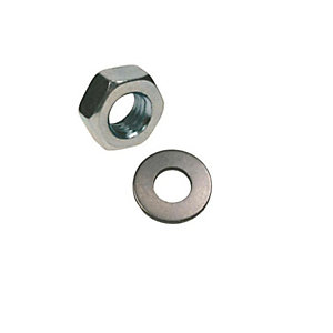 Rawl Nuts & Washers M20 Inc Plated Pack of 3