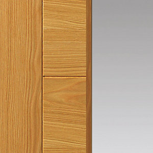 Oak Emral Prefinished Glazed FD30 Fire Door