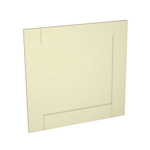 Ohio Cream Kitchen Appliance Door (C) 600mm x 584mm