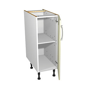 Ohio Cream Kitchen Base Unit 300mm