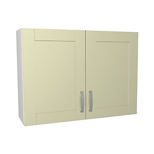 Ohio Cream Kitchen Wall Unit 1000mm