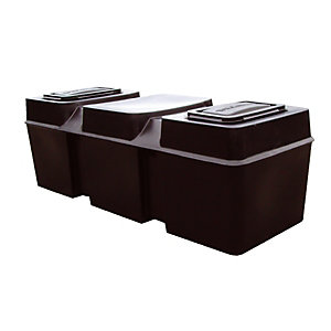 Ferham Low Level Coffin Tanks Rectangular 227 Litre Cold Water