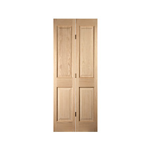 Oregon 4 Panel Bi-fold White Oak Interior Door