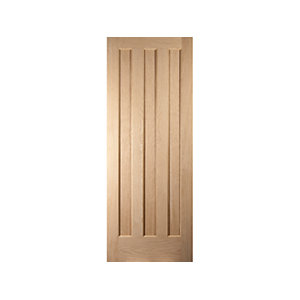 Oregon Aston 3 Panel Interior White Oak Door