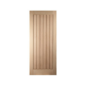 Oregon Cottage White Oak Exterior Door