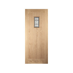 Oregon Croft Glazed White Oak Exterior Door