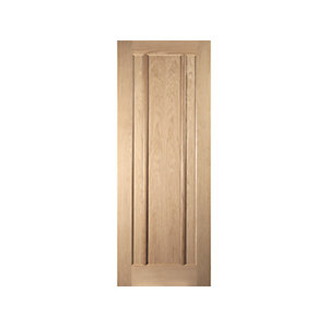 Oregon Worcester Interior White Oak Door
