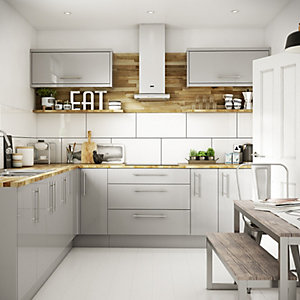 Orlando Grey 8 Unit Kitchen Range