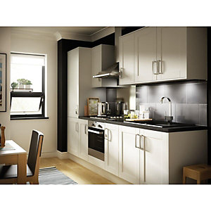 Orlando White Gloss 8 Unit Kitchen Range