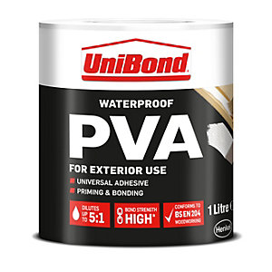 UniBond Waterproof PVA 1L