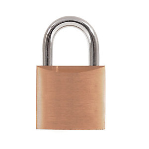 4Trade Padlock Brass 30mm