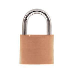 4Trade Padlock Brass 40mm