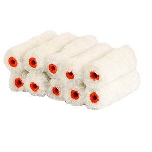 4Trade Mini Rollers Emulsion Pack 10 4in
