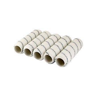 4Trade Woven Roller Heads Medium Pack of 5