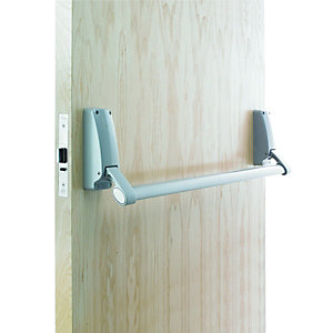 Briton 379.nse Panic Night Latch Reversible Silver