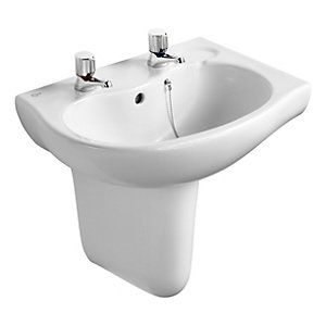 Ideal Alto Space Semi Pedestal White E750201