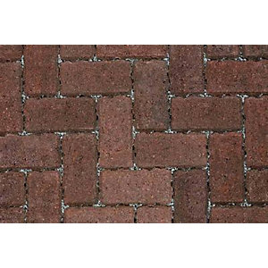 Marshalls Driveline Priora Burnt Ochre Permeable Block Paving 200mm x 100mm x 60mm - Pack of 404 (8.08m2)