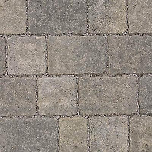 Marshalls Drivesett Tegula Priora Pennant Grey Block Paving 160mm x 160mm x 60mm - Pack of 348 (8.91m2)
